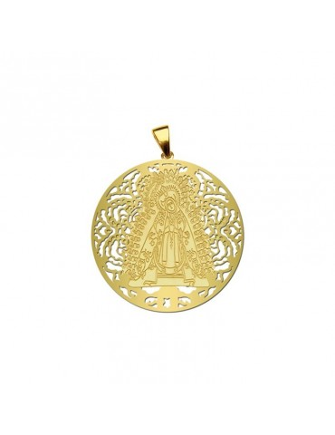 Medalla Virgen la Soledad...