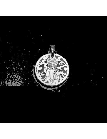 Medalla Sant Narcis en plata de ley