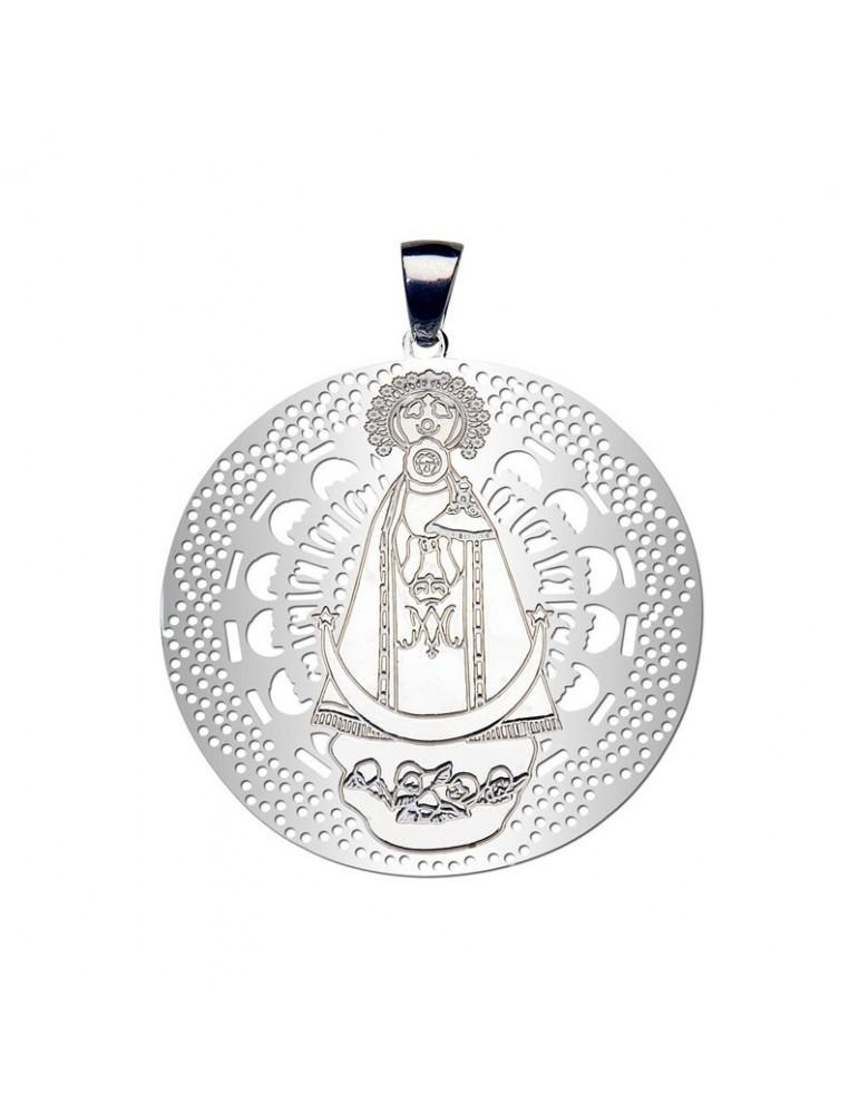 Medalla Virgen Llanos Plata ley 925m