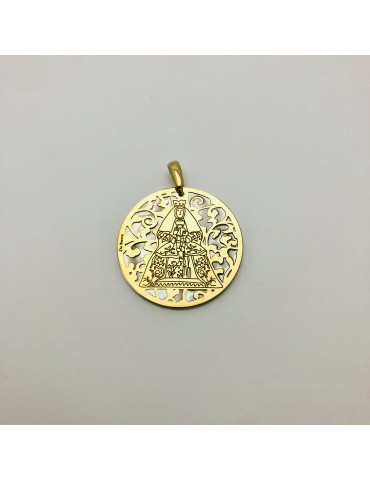 copy of Medalla Virgen del...