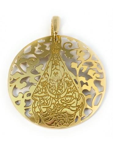 Medalla Virgen del Castillo...