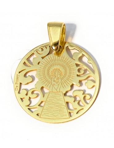 copy of Medalla Virgen Pilar en Plata de Ley  35mm