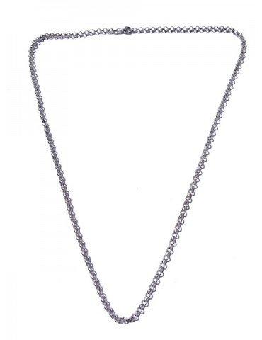 Cadena plata de ley 925mm. 60cms