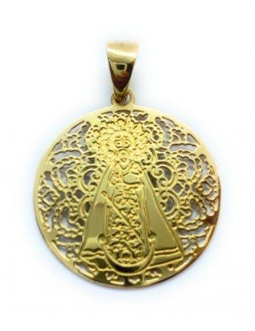 Medalla Virgen de Gador...