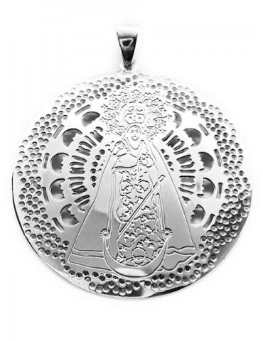 Medalla Virgen Gador plata...