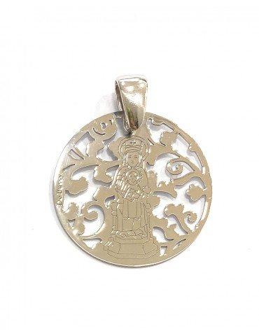 Virgen de la Arrixaca plata...