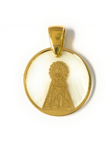 Medalla comunión Virgen de...