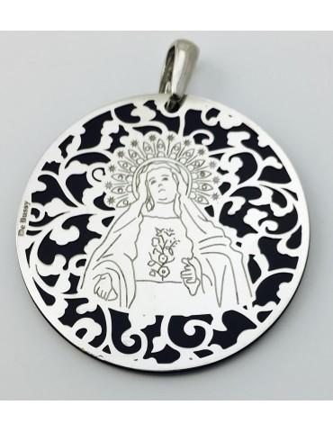 Medalla Virgen de Amargura (Paso Blanco de Lorca)