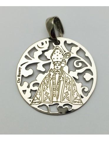 Medalla plata de ley San Fermín 25mm