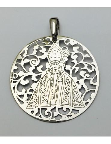 Medalla plata de ley San Fermín 40mm