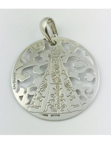 Medalla Virgen Nuestra Señora de Begoña Plata de Ley 25mm