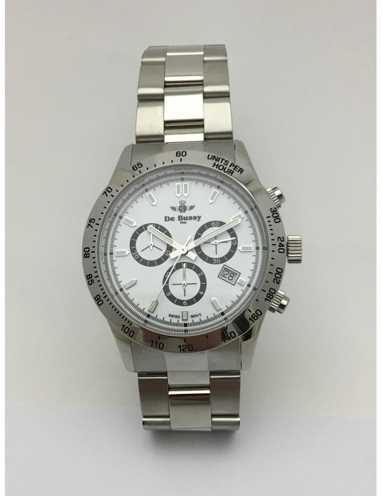 Reloj De Bussy cronógrafo acero R 320130