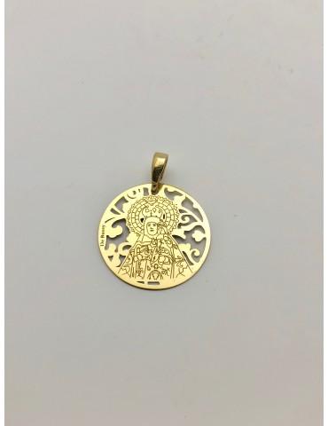 Medalla Virgen de la Luz