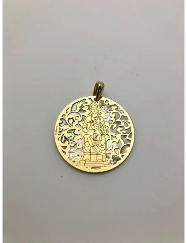 Medalla Virgen de Leyre