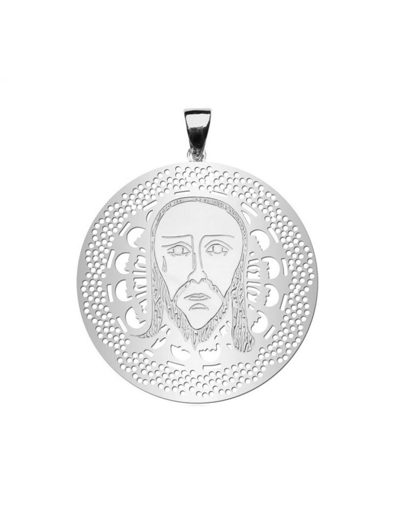 Medalla de La Santa Faz en Plata ley 925ml