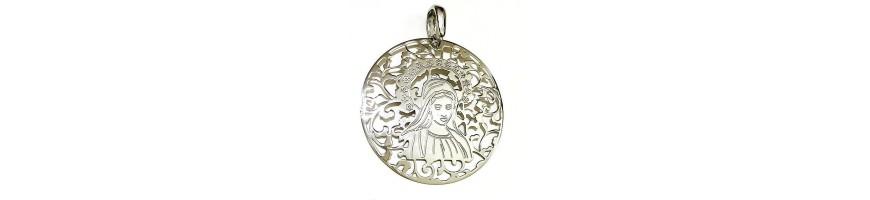 Medalla Virgen de Medjugorje