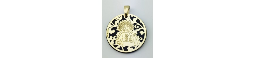 Medalla Virgen de la Amargura (Paso Blanco de Lorca)